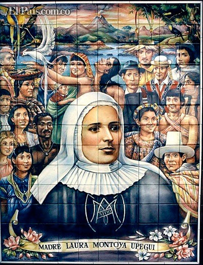 El papa Francisco proclamó santa a la primera colombiana, la madre Laura Durante…