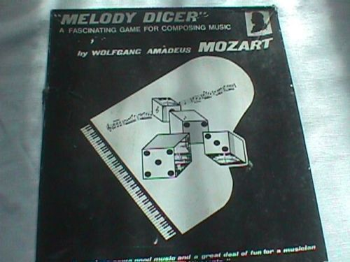 Wolfgang Amadeus Mozart Melody Dicer for Piano