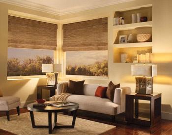 #Salon de style #transitionnel avec #lampedetable. / #Transitional #livingroom with #tablelamp.