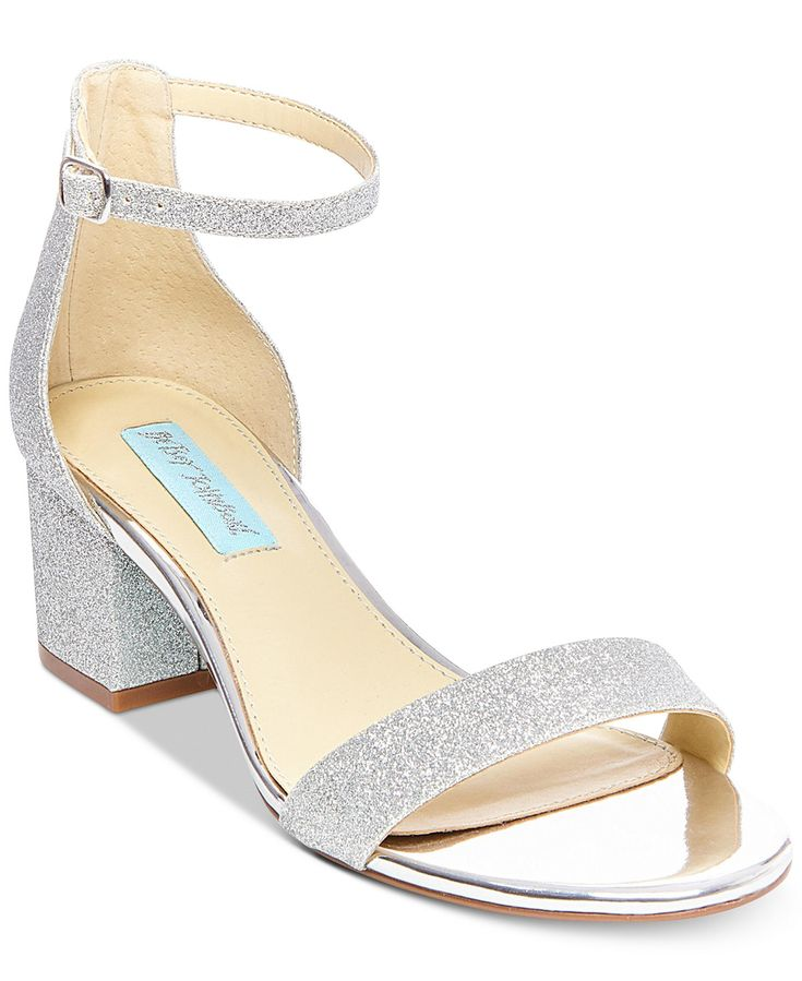 Blue by betsey johnson miri evening sandals created for