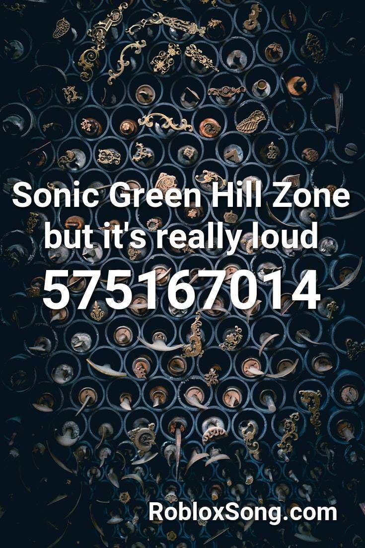 sonic green hill zone roblox id