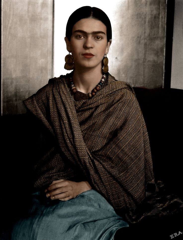 Frida Kahlo in honor of her 109th birthday