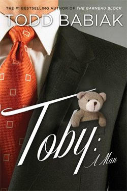 Toby a man / Todd Babiak / TV presenter and man-about-town Toby Menard has it all - until he makes a series of terrible choices and ends up back living in his parents' basement in a dreary Montreal suburb. To make things worse, Toby's father has an accident that causes his behaviour to change in startling ways. But Toby's salvation unexpectedly arrives in the person of an abandoned two-year-old child.