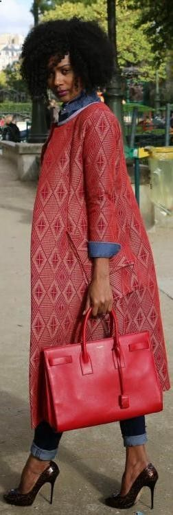 The perfect autumn coat Afrocentric. Colorful Outfit. Ethnic Print Outfit. Balmain Outfit. Tribal Outfit. Boho Outfit. Statement Outfit. Steampunk Outfit. African Outfit. Animal Print Outfit. OOTD. Creative Fashion. Caribbean Looks.