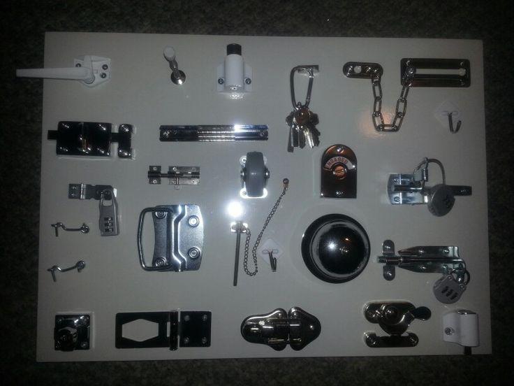 Home made Lock board