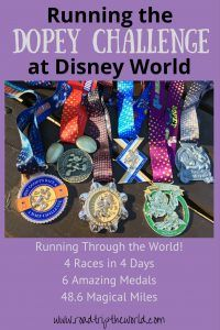 Walt Disney World's Dopey Challenge- 4 Races in 4 Days through 4 Parks. 6 Amazing Medals. 48.6 Magical Miles.