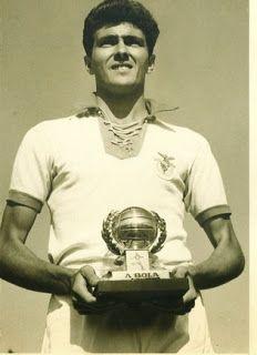 José Águas - SL Benfica - Melhor marcador do campeonato nacional em 1951/52, 1955/56, 1956/57, 1958/59 e 1960/61.