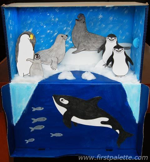 More Ideas for a Polar Diorama