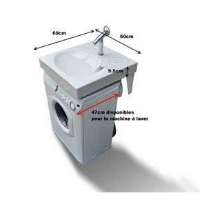 Lavabo gain de place pour machine à laver GPM1