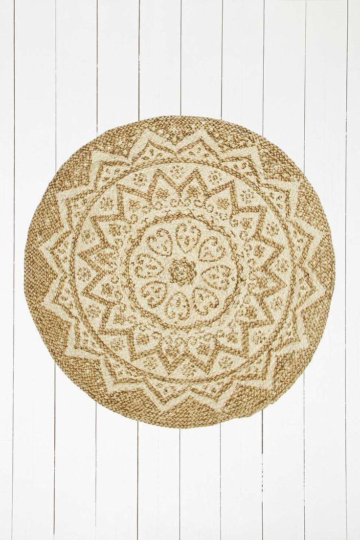 Runder teppich beige  Die besten 25+ geflochtener Teppich Ideen nur auf Pinterest ...