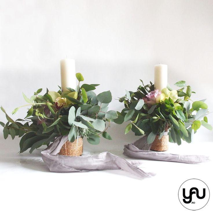 lumanari-cununie-scurte-frunze-verzi-orhidee-trandafiri-_-yauconcept-_-elenatoader-4