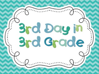 3rd Day in 3rd Grade Activities (for the first week of school?)