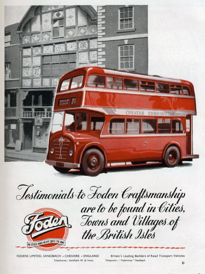 vintage piper bus ads