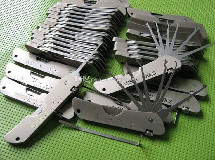 Pick Set Lock Jackknife