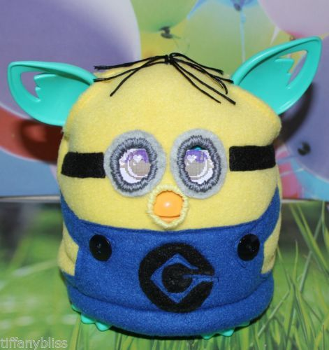 Minion Despicable Me Dave Costume Clothes For Furby or Furby Boom OOAK