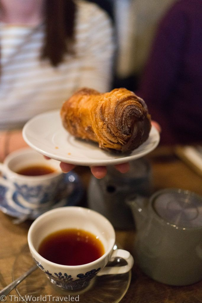 The one-of-a-kind cruffin found at Foxcroft & Ginger in London