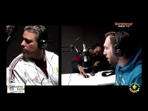 drapetsonavolley: Ο Βασίλης Τζώρτζης στο RadioSun
