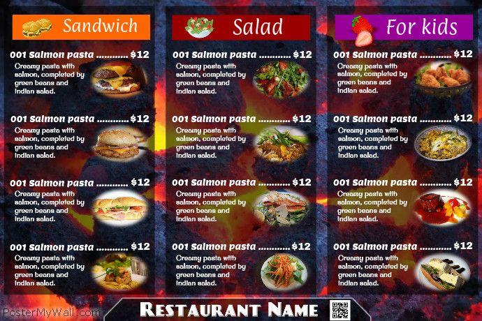 101 best restaurant flyers  diy  images on pinterest