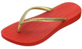 Ipanema Sun Red Flip Flop This is a simple yet elegant flip-flop that incorporates comfort and fashion. The thin strap has studded detailing and the well-designed toe shape means that this flip-flop is so much more than an eve http://www.comparestoreprices.co.uk/womens-shoes/ipanema-sun-red-flip-flop.asp
