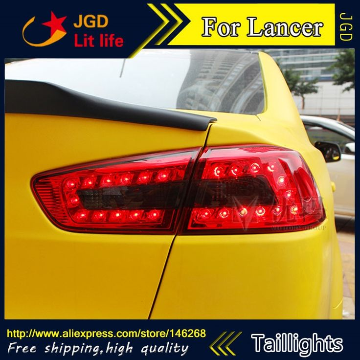 294.50$  Watch now - http://alig9x.worldwells.pw/go.php?t=32746356878 - Car Styling tail lights for Mitsubishi Lancer 2010-2013 LED Tail Lamp rear trunk lamp cover drl+signal+brake+reverse 294.50$