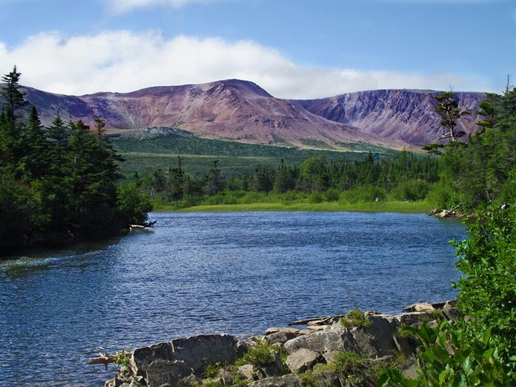 Serpentine River and Lewis Hills, NL