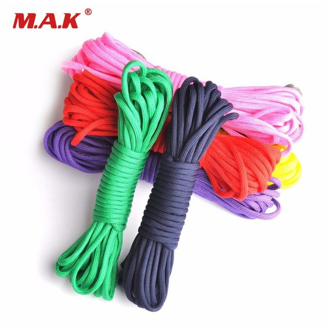 Outdor Climbing Paracord 550 Parachute Cord Lanyard Rope Mil Spec