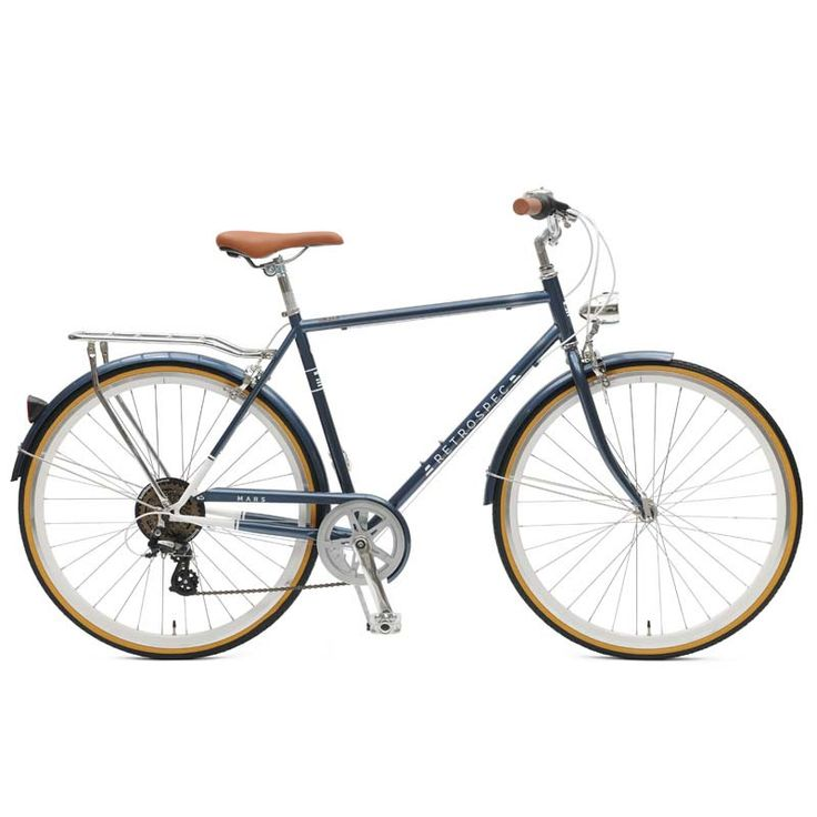 Earth to Mars The Retrospec Mars seven-speed city bike is designed with commuters in mind. An unbeatable opponent is produced from a union between our lightweight, heavy-duty diamond frame, top-of-the