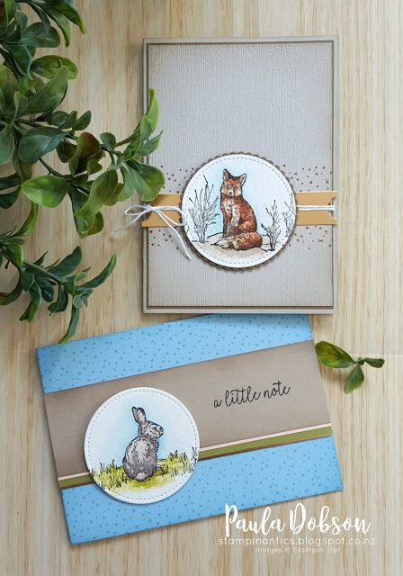 STAMPIN' DOWN UNDER WITH PAULA AND ALISA
