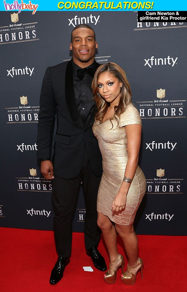 Cam Newton: Panthers Quarterback & Longtime Girlfriend Welcome BabyBoy