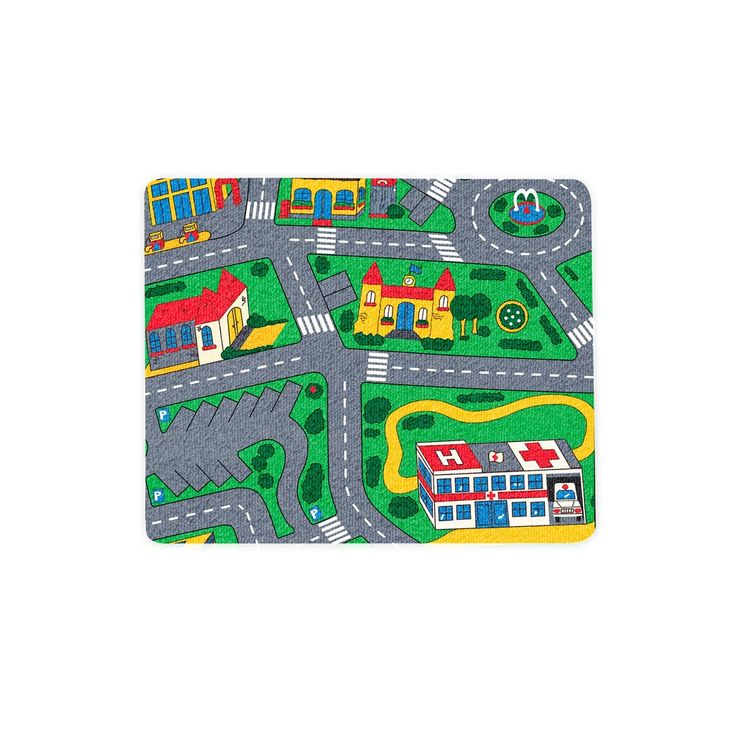 """Carpet Track Mousepad  With the Carpet Track Mousepad, you can be ensured your mouse scrolls like a cool car, just like in your early childhood days.    Our mousepads are 7"""" x 9"""" in size and the material is a blend of cloth and rubber."""