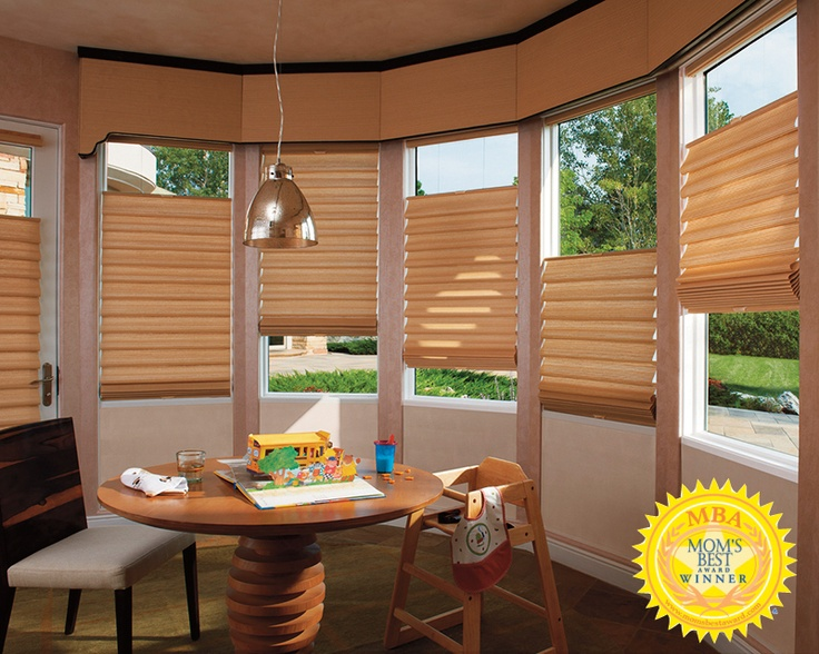 Vignette modern roman shades with literise cordless lifting system wins a moms best
