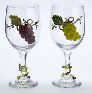 80 Best Painted Wine Glass Ideas Images On Pinterest