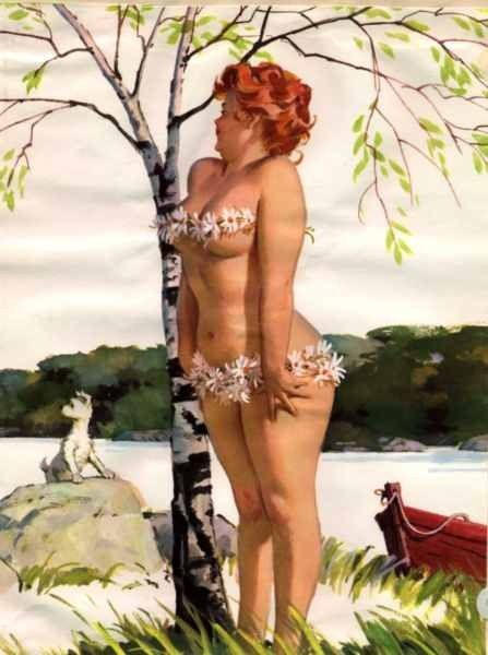 Hilda the Voluptuous Pin-up. Cool :)