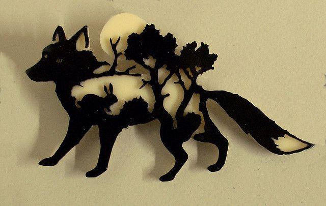 """""""Lost in the woods"""" pin by """"little nemo in slumberland"""" (Simon MacEwan, artist and maker of lost in the woods jewellery.)"""