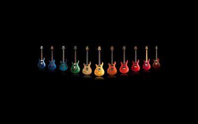 Eelctric guitars wallpaper