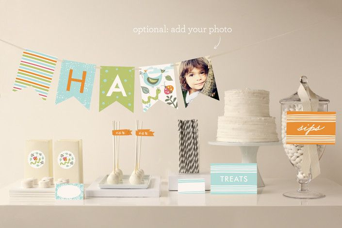 Park Party Party Decor by Carolyn MacLaren at minted.com