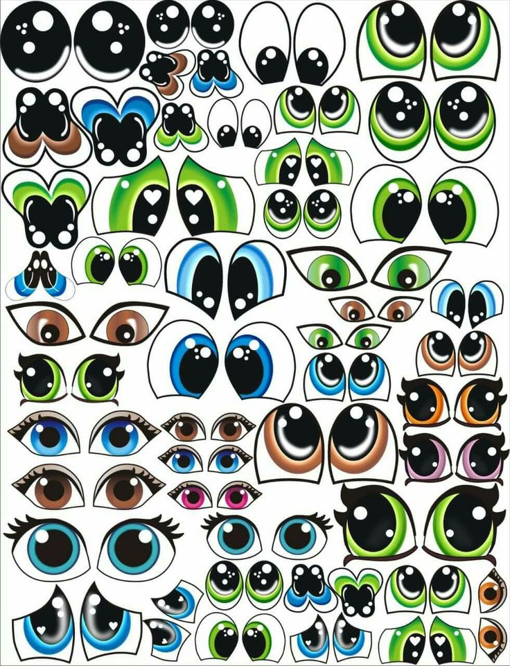 картинка маленькие глазки девушка