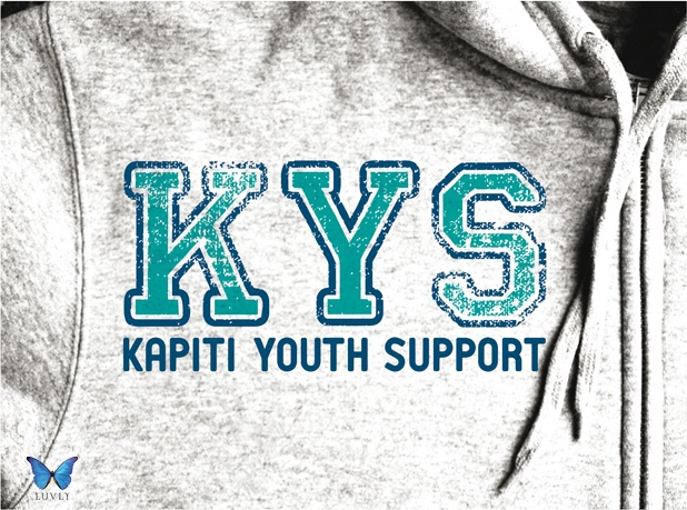 Kapiti Youth Support, New Zealand. Logo Design by Luvly Ltd. www.luvly.co.nz