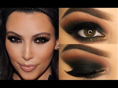 #Dramatic Black Makeup Kim Kardashian Makeup