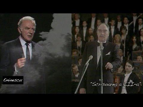 """Mircea Albulescu și Gheorghe Cozorici -  """"Scrisoarea III"""" de Mihai Eminescu"""