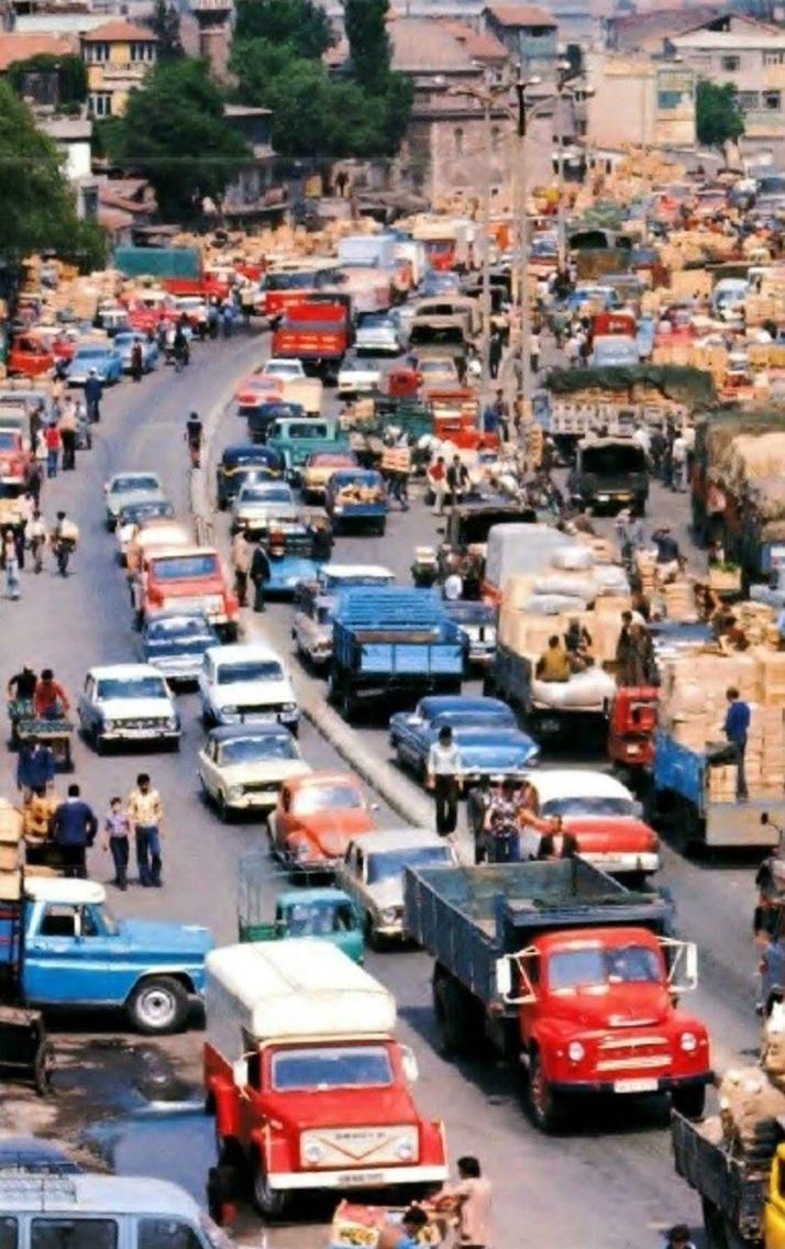 Unkapanı Sebze Hali (1970'li yıllar) #istanbul