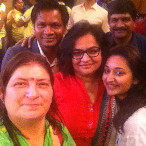 Yogesh M. A.: Networking with Bollywood Celebrities, Zenobia Khodaiji, Namrata Thakker and Rajesh Tayal sir