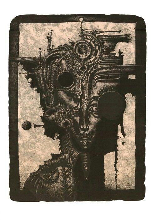 "R. Sustov   ""Zetaconte"" lithography 42/62 2013"