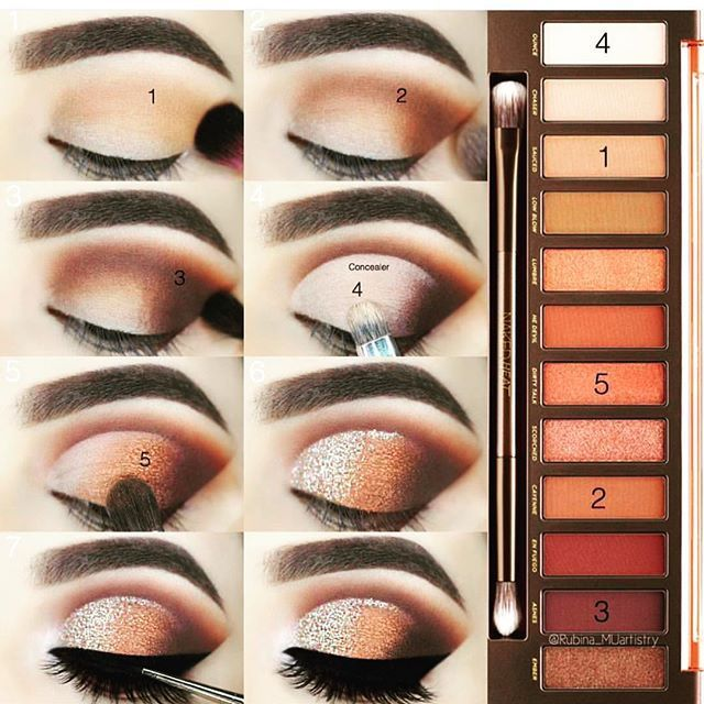 Urban Decay: Naked Heat Collection – Make-up