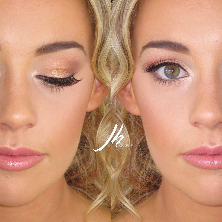 Prom / Formal Makeup Soft romantic look Instagram : jh_makeupartist  #JHglam Www.instagram.com/jh_makeupartist    Eyeshadows: @maccosmetics @anastasiabeverlyhills @stilacosmetics Brows @anastasiabeverlyhills Lashes: @modelrocklashes Glow: @beccacosmetics  @maccosmetics Blush: @maccosmetics Lips: @modelrocklashes & @maccosmetics