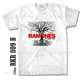 Remeras Estampadas Ramones 09 Rock Digital Stamp Dtg