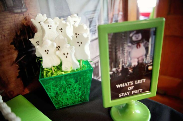 Ghostbusters Birthday Party Ideas   Photo 4 of 51   Catch My Party