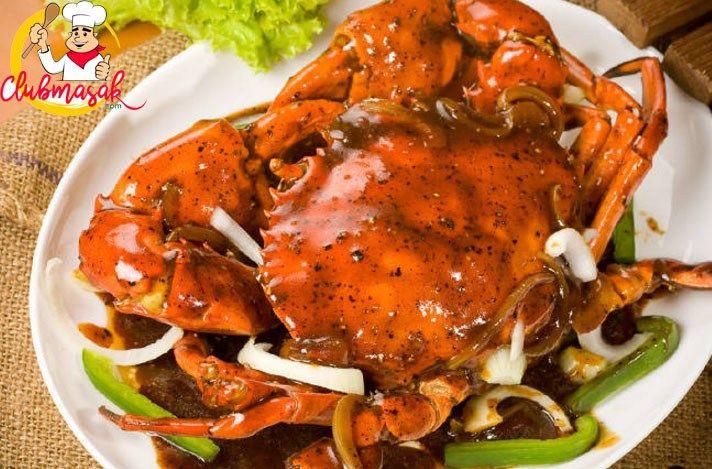 Kepiting Lada Hitam Club Masak Resep Kepiting Masakan Resep