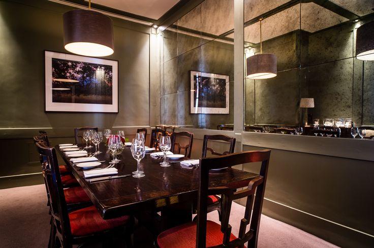 Private Dining at Villandry Great Portland Street