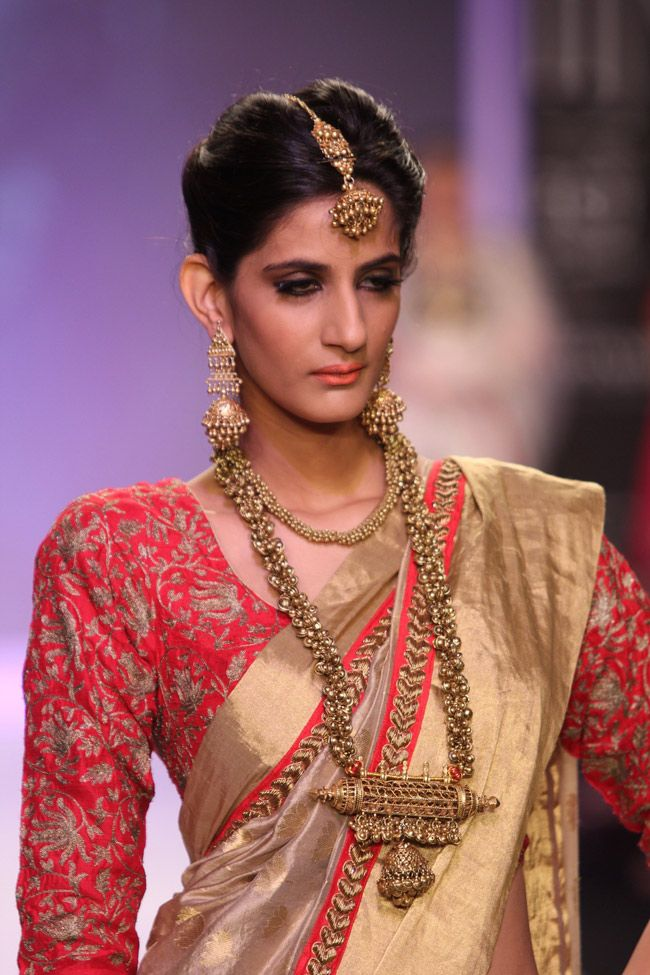 Tribal influence was very evident in both contemporary and traditional jewellery at the India International Jewellery week.